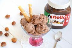 Gelato alla Nutella senza gelatiera, scopri la ricetta: http://www.misya.info/ricetta/gelato-alla-nutella-senza-gelatiera.htm