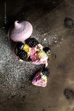 Mini Pavlovas de frutos morados - Bake-Street.com