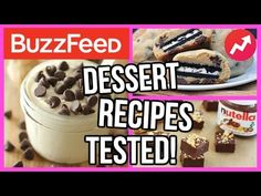 Buzzfeed Dessert Recipes TESTED! - YouTube