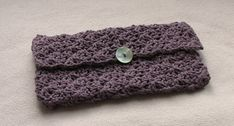 EASY crochet purse tutorial - how to crochet a clutch bag / purse / handbag