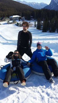 Tubing is a great way to spend time in Banff when not working in the hotel!  http://www.oysterworldwide.com/gap-year/canada-winter-hospitality-work-rockies/