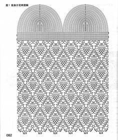 Crochet pattern for girls Crochet Tank Tops, Crochet Bikini Top, Crochet Shirt, Crochet Cardigan, Crochet Diagram, Crochet Motif, Crochet Doilies, Crochet Top, Crochet Patterns