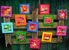 Hier wordt je toch vrolijk van! Schilderijtjes van Colorblock gezien op Awanda en Facebook. Ook hun neon collectie is erg leuk.. Eigenlijk wil ik ze allemaal.. !!