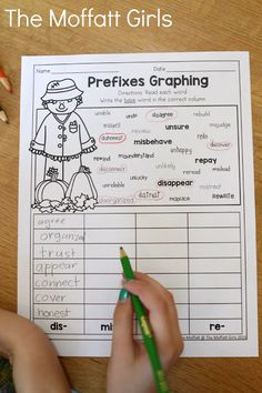 Teach multiplication, two and three-digit addition and subtraction, sight words, grammar, writing and so much more with the October NO PREP Packet for Third Grade! Graphic Organizer For Reading, Graphic Organizers, First Grade, Third Grade, Teaching Multiplication, Prefixes, Addition And Subtraction, Sight Words, Learning Resources