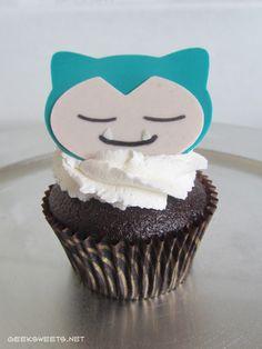 Snorlax Cupcake, Pokémon