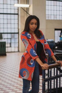 NEW IN: Ankara jacket African clothing for women African African American Fashion, African Fashion Ankara, Latest African Fashion Dresses, African Dresses For Women, African Print Dresses, African Print Fashion, African Attire, African Wear, African Style