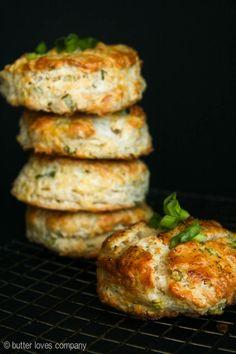 Feta cheese and scallion buttermilk biscuit recipe :-)