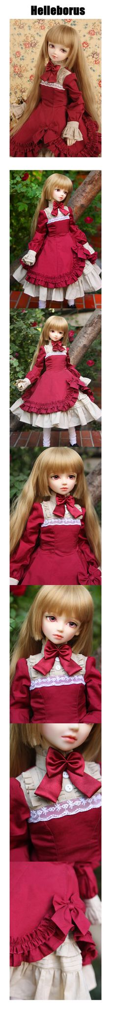 BJD's wear store. Dress / the LOLI skirt-the H01R (red)