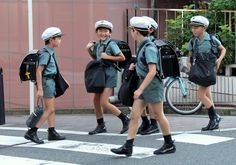 Japanese elementary students