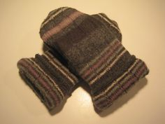 MMC0298 Hamilton Wool Mittens womens sm/med by MichMittensbyLauri, $23.00