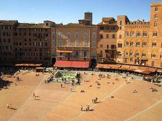 Siena, #Italy - Piazza del Campo #travel