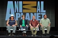 Finding Bigfoot's James Fay, Ranae Holland, Cliff Barackman and Matt Moneymaker The Beverly, Beverly Hills, Finding Bigfoot, Planet S, Strange Things, Cliff, Discovery, Holland, Believe