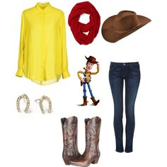 """""""Sheriff Woody"""" by lucindadotty on Polyvore"""