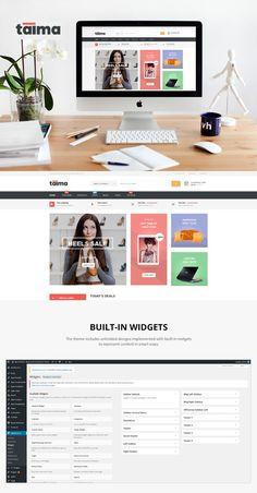 Taima - Woocommerce Theme. WordPress eCommerce Themes. $55.00