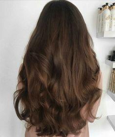 ideas hair waves soft highlights for 2019 Hair Color Dark, Cool Hair Color, Dark Hair, Color Blue, Hair Goals Color, Blue Green, Bob Hair, Balayage Hair, Brown Balayage