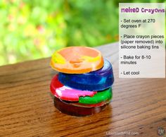 Melted Crayons directions | LiberatedMind.com