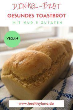 Sandwich-Brot muss immer ungesund oder aus Weizen sein? Von wegen! Mein Dinkel-Brot mit nur 5 Zutaten beweist das Gegenteil. Ganz egal ob als süßes Frühstücksbrot oder für herzhafte vegane Sandwiches zum Abendbrot – das luftige gesunde Toast-Brot macht bei jeder Brotzeit eine gute Figur. Hier geht's zum Rezept: natürlich vegan!