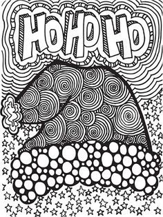 hard christmas coloring pages - Yahoo Image Search Results
