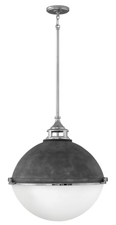 three light pendant fletchers chic vibe transcends style boundaries a seamless dome shade features a castfitter and an elegant capture ring that secures