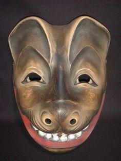 Tanuki mask