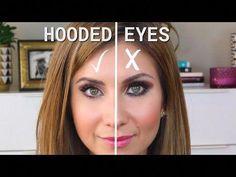 Make Up - Hooded Eye Makeup Tutorial J Makeup, Eye Makeup Tips, Skin Makeup, Makeup Ideas, Makeup Tutorials, Brown Makeup, Makeup Hacks, Glitter Makeup, Makeup Designs