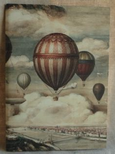 I think our next adventure should be a hot air balloon ride. Fire Balloon, Hot Air Balloon, Steampunk Bicycle, How To Draw Balloons, Flying Without Wings, Balloon Rides, Vintage Drawing, Decoupage Paper, Illustration Artists