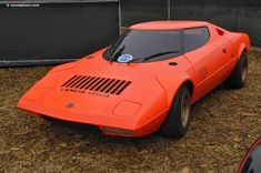 Photographs of the 1971 Lancia Stratos HF Prototype. An image gallery of the 1971 . Pebble Beach Concours, What Is Like, Car Parts, Concept Cars, Vintage Cars, Super Cars, Automobile, Vehicles, Number