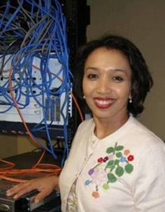 Janet Emerson Bashen is the first African American female to hold a patent for a software invention. Her software, LinkLine, is a web-based application for EEO claims intake and tracking, claims management, document management and numerous reports. African American Inventors, African American Women, African Americans, African American Scientists, Native American, Black History Facts, Black History Month, Strange History, By Any Means Necessary