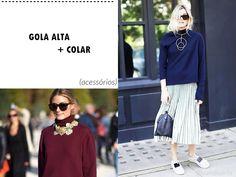 7 jeitos de usar GOLA ALTA | Tendência, Como Usar e Onde Comprar