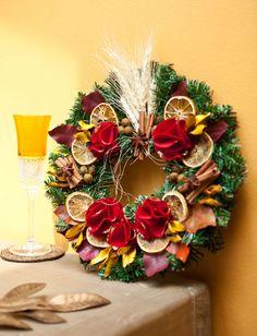 Guirlanda natural - DIY, Christmas, Craft, Upcycled