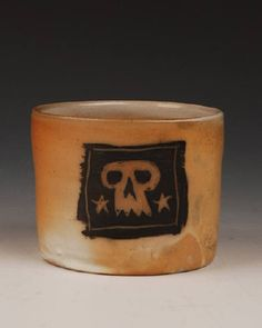 Sam Taylor, Title: Pirate Tumbler with Skull
