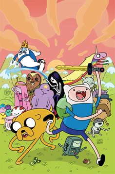 Adventure Time #5 (Cover A) by Chris Houghton