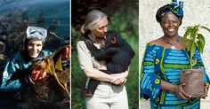 10 Trailblazing Female Environmentalists Who Have Changed the World. #female #nature #environment