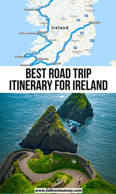 ireland travel Planning the perfect Ireland road trip itinerary doesn't have to be stressful or overwhelming. Cliffs Of Moher, Ring Of Kerry, Blarney Castle, Dublin + Arizona Road Trip, Arizona Travel, Sedona Arizona, Cool Places To Visit, Places To Travel, Travel Destinations, Travel Trip, Travel Deals, Travel Packing