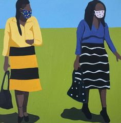 Level 4 painting by Shakes Tembani - art for sale from South Africa Canvas Size, Oil On Canvas, Woman Painting, Online Art Gallery, Art For Sale, Original Paintings, African, South Africa, Artwork