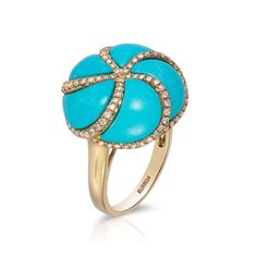 Turquoise ring, effyjewelry.com   - TownandCountryMag.com