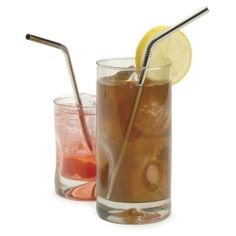 Endurance Stainless Steel Drink Bent Straws. Reusable, and they prevent teeth stains if you're a tea drinker. $8.34