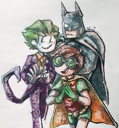 Rick And Morty Season, Im Trying, Art Blog, My Drawings, Robin, Gentleman, Lego, Joker, Gay