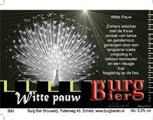 Burg Bieren - Witte Pauw 5.5%