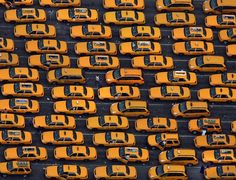 NY Cabs. This image was selected by Diane Von Furstenberg for the NY Times Fifth Photographs Collection.