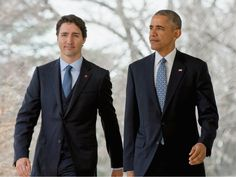 Best-Dressed Men of the Week: Justin Trudeau and Barack Obama...: Best-Dressed Men of the Week: Justin Trudeau and Barack… #JustinTrudeau