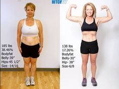 Mother loses 47 lbs and 8 dress sizes with Kansas CIty personal Training Hitch FIt