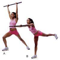 Total body bar workout