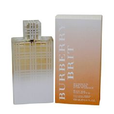 Burberry Brit Summer Perfume by Burberry 3.4oz Eau De Toilette spray for Women