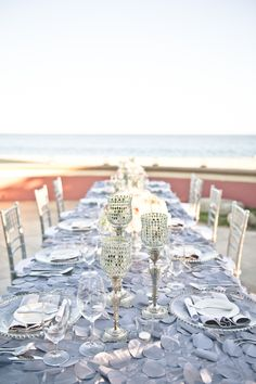 Destination wedding reception | Bit of Ivory Photography | see more on: http://burnettsboards.com/2014/04/los-cabos-destination-weddings-honeymoons-part-2/ #wedding #reception