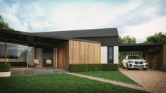 No. 34 - McAleenan NI Cottage Design, Farmhouse Design, House Designs Ireland, Old Country Houses, Rural House, Farmhouse Renovation, Home Design Plans, House Front, Cladding