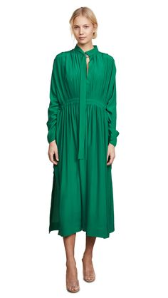 CEDRIC CHARLIER LONG SHIRT DRESS. #cedriccharlier #cloth #