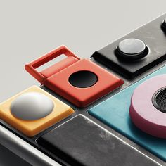 Project Ara is a minimalist design created by California-based designer Lapka with Google. Design language inspiration for this collection is based on hi-end, designer sneakers with the most unique combinations of materials and textures.
