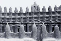Africa Africa  Mud architecture, Djenne James Morris   Mud architecture, Djenne, Mali