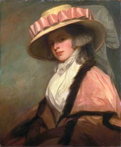George Romney: Catherine (Brouncker) Adye, later Catherine Willett, 1784-1785.  From the collection of The Huntington, object number 22.56 .